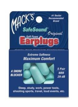 oordoppen safesound 5 paar